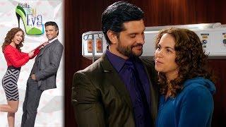 ¡Eva descubre que Elena y Plutarco son novios! |Por ella soy Eva |Televisa