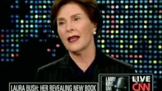 Laura Bush For Gay Marriage & Pro-Choice!