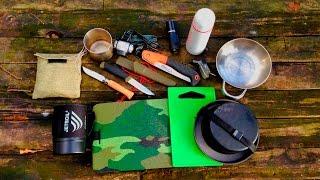 видео Самодельный стол для природы (стол для пикника, похода)