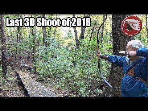 3D Archery - Last club shoot of 2018 - Cos Cob