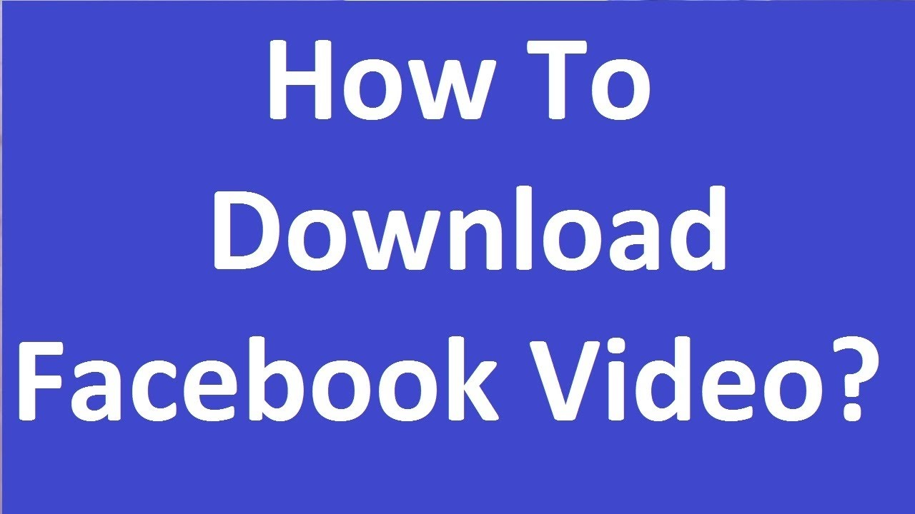 facebook video download android xposed