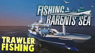 2 Million Dollar Fish Haul! - New Trawler Fishing Ship - Fishing Barents Sea Gameplay