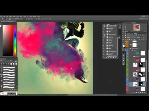 Cloud 2 Photoshop Action By Freezeron