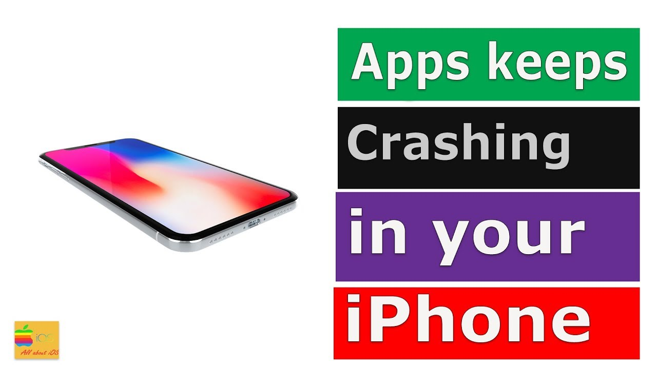 Fix app crashing frequently in your iPhone or iPad