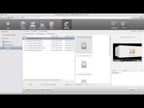 Video and Media Archive on LTO Tape with Metadata Search and Restore - Archiware P5 Archive