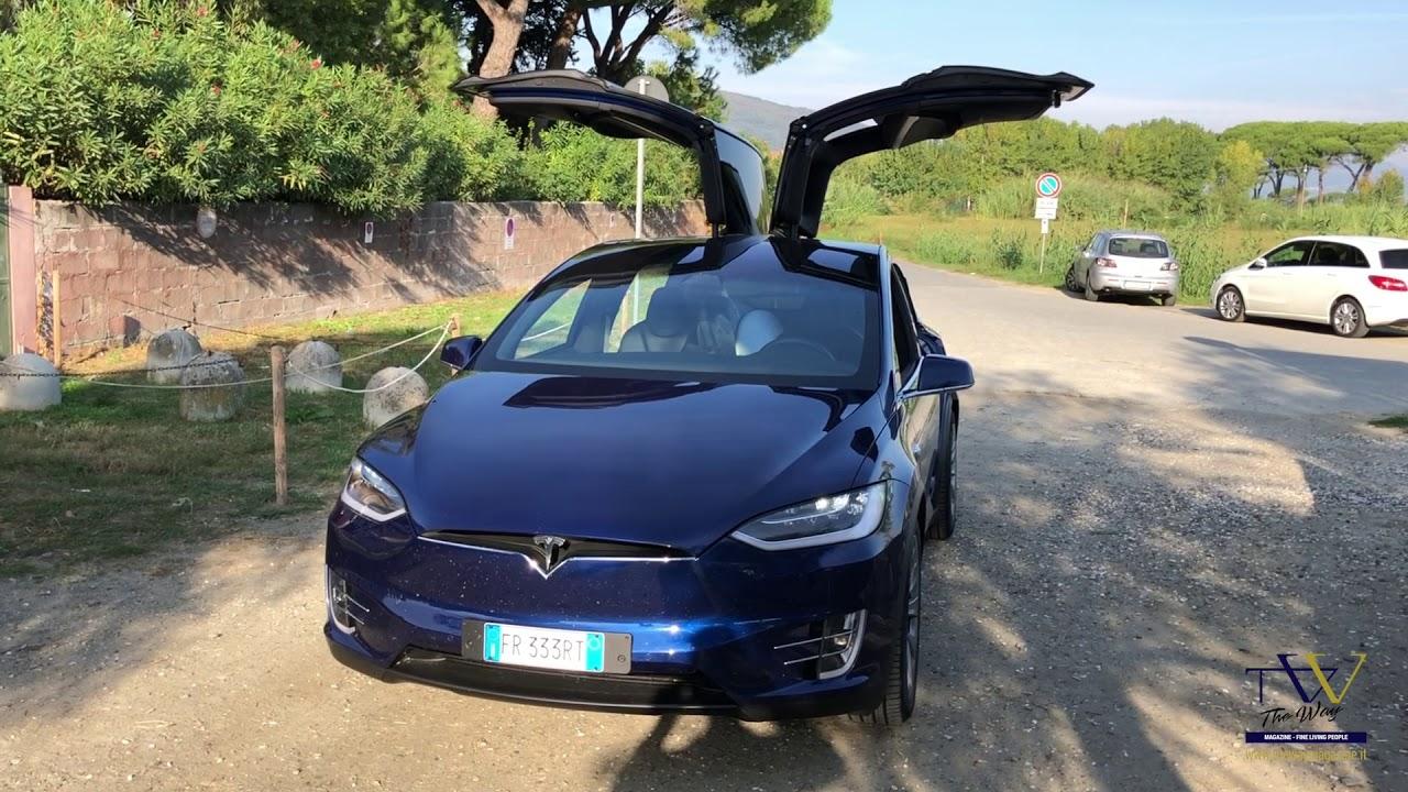 Tesla Model X   Xmas Show   YouTube