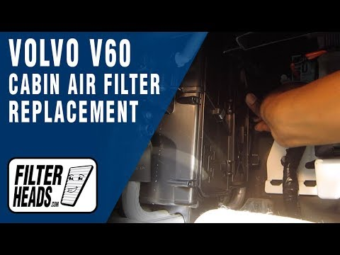 How to Replace Cabin Air Filter 2015 Volvo V60