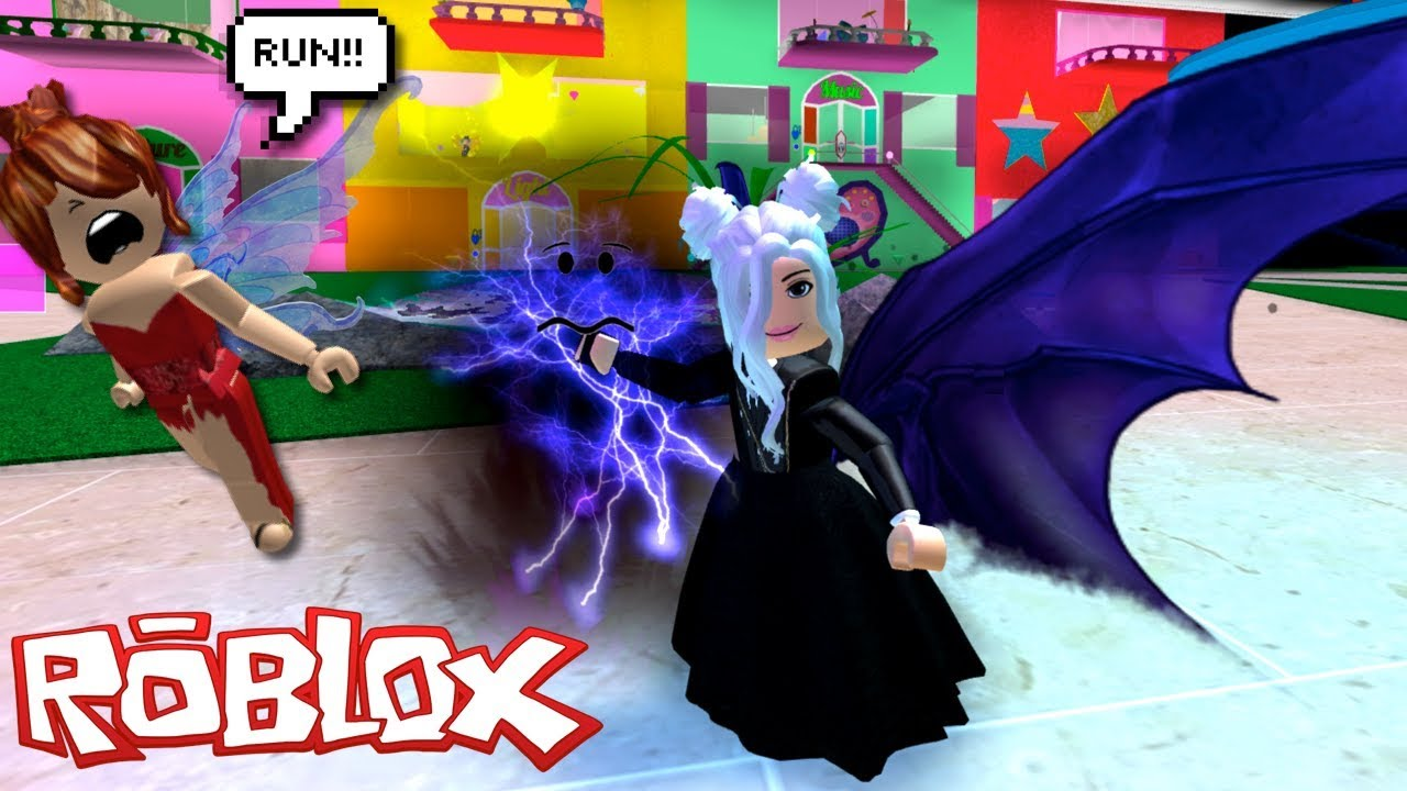 Roblox Roleplay Enchantix High The Dark Fairy With The Good