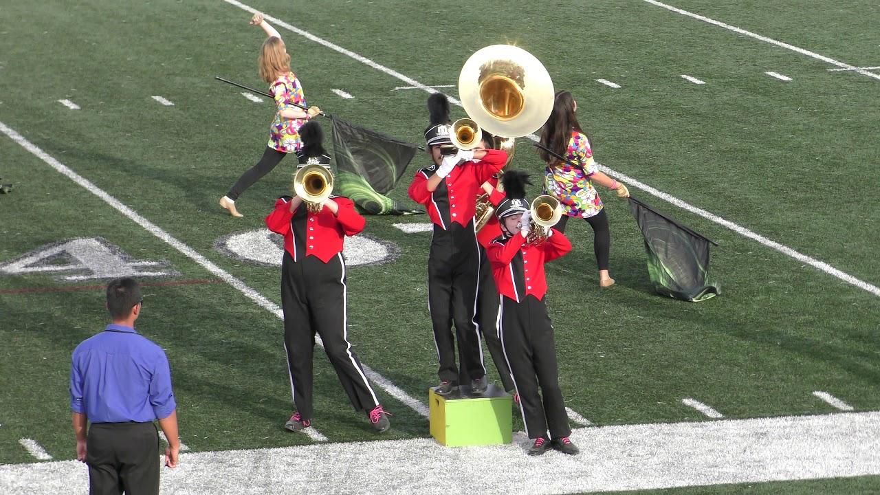 cd7de9177 10 21 17 Fairlawn Competition. Glen Ridge High School Marching Band