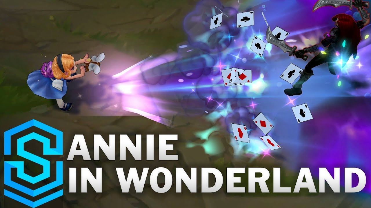 Annie in Wonderland VFX Update Skin Spotlight – Pre-Release – League of Legends