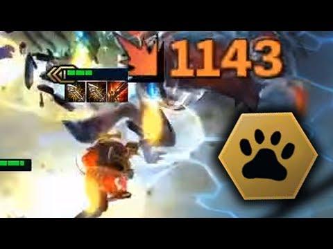 ZED LVL 3 DOUBLE Infinity Edge | Teamfight Tactics Gameplay [Deutsch][9.19]