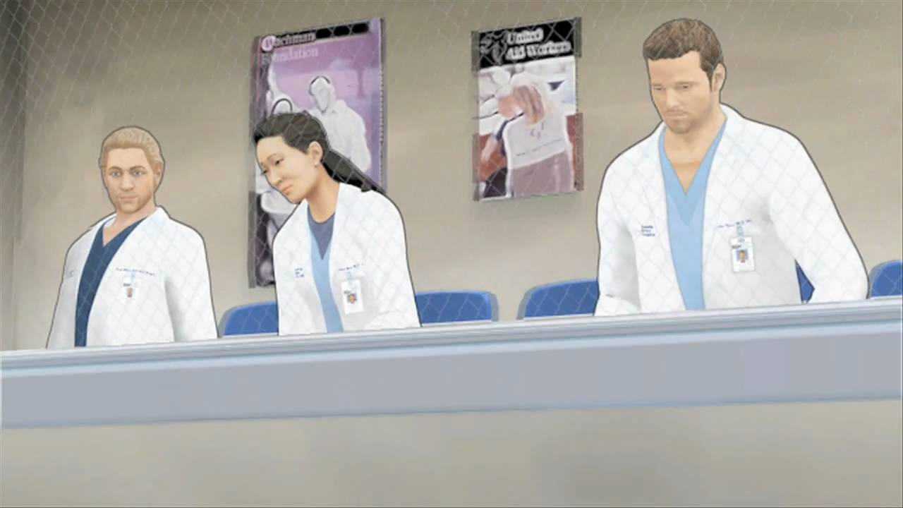 Hd Greys Anatomy The Video Game Official Trailer Youtube