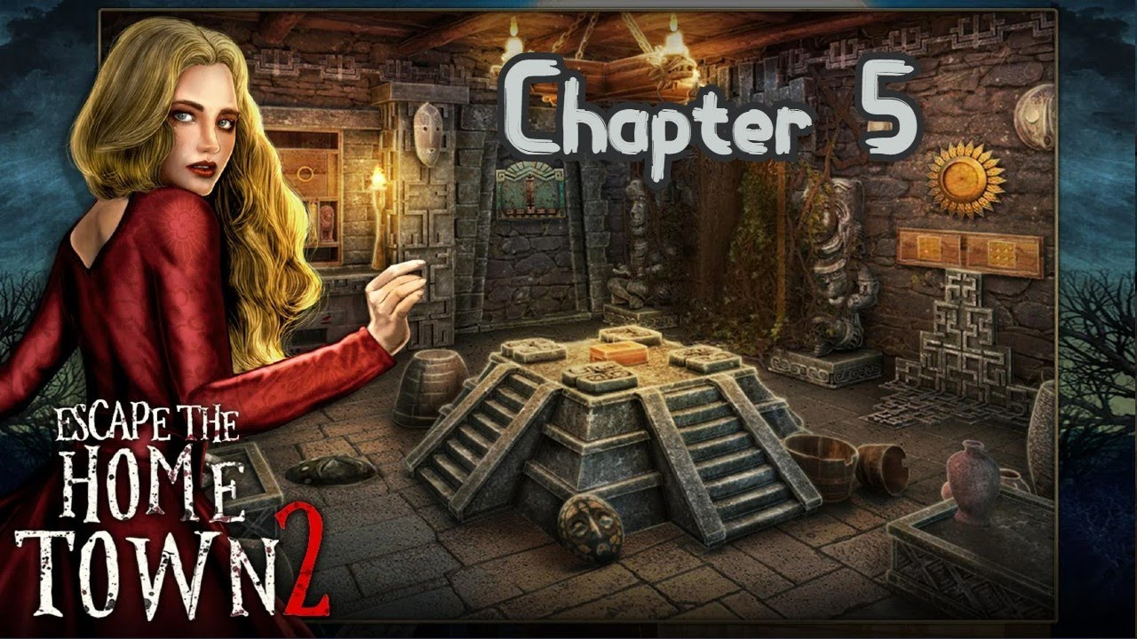 Escape Game Home Town Adventure 2 Walkthrough Chapter 5 Buscoldapp Youtube