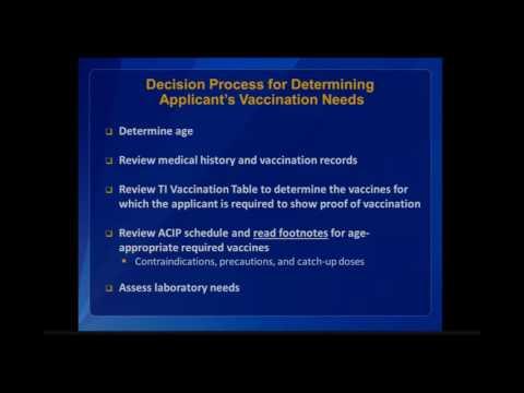 Technical Instructions on TB & Immunizations, 6 of 6 [Naughton]