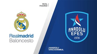 Real Madrid - Anadolu Efes Istanbul Highlights |Turkish Airlines EuroLeague, PO Game 4