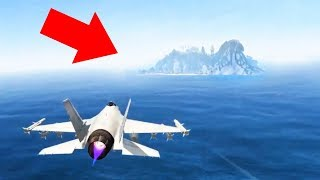 NEW SECRET ISLAND DISCOVERED?! (Gta 5 Mods)