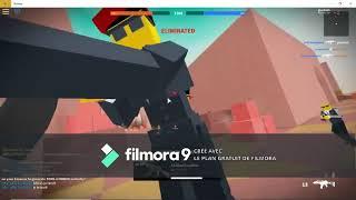 Première video sur roblox sans son (Roblox)