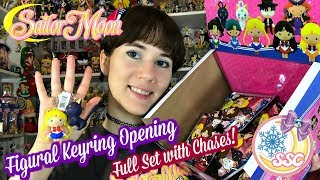 Sailor Moon Figural Keyring Opening - Full Set With Chases!