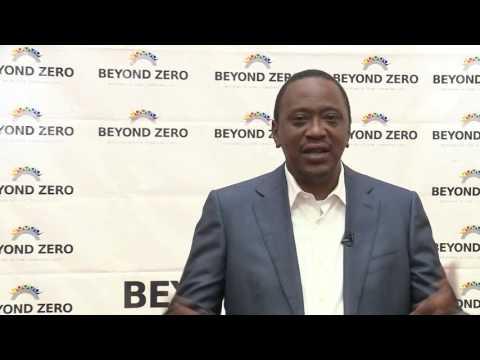 PRESIDENT UHURU KENYATTA BEYOND ZERO MARATHON ADDRESS 2016