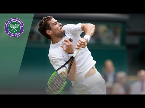 Guido Pella Vs Kevin Anderson Wimbledon 2019 Third Round Highlights