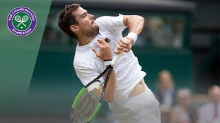 Guido Pella vs Kevin Anderson Wimbledon 2019 third round highlights