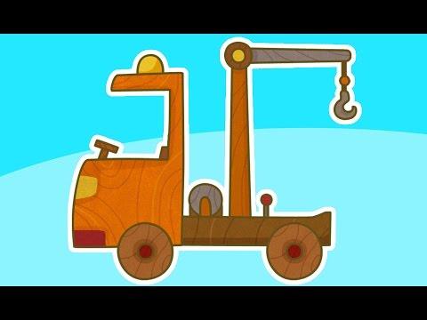 Сериал для мальчиков МАШИНКИ: Эвакуатор и Пожарная машина. Развивающие мультики про машинки