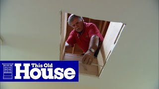 How to Install a Whole House Fan - This Old House