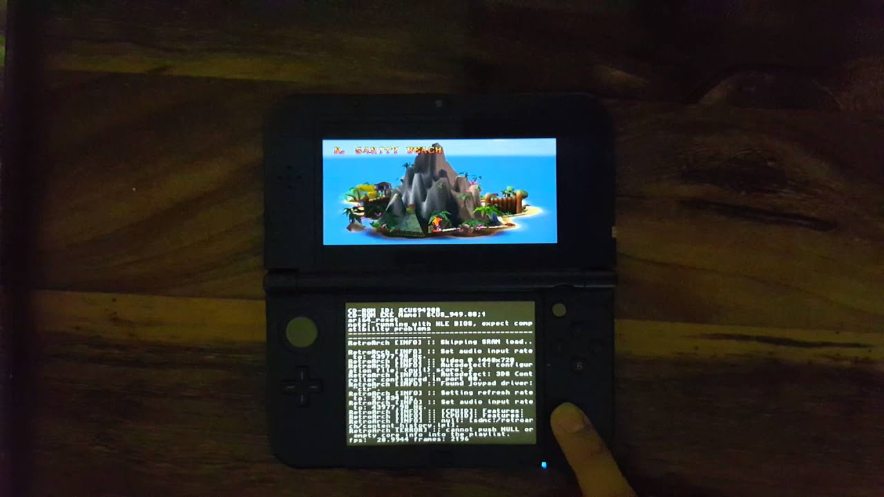 PS1/PSX emulator for Nintendo NEW 3DS [RetroArch H