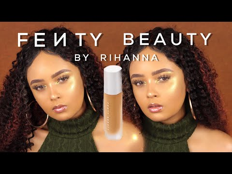WORLD'S MOST INCLUSIVE MAKEUP BRAND?! Fenty Beauty by Rihanna Review