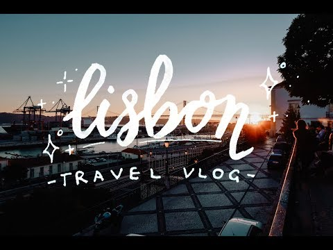 a weekend in lisbon portugal // travel vlog