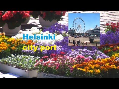 Helsinki, Finland - port market