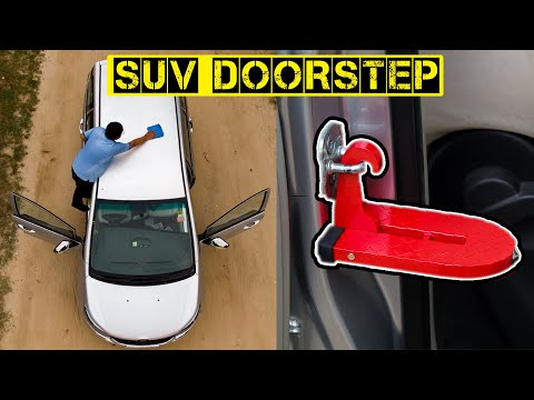 Must Needed Car Accessory   New Technology   SUV DoorStep