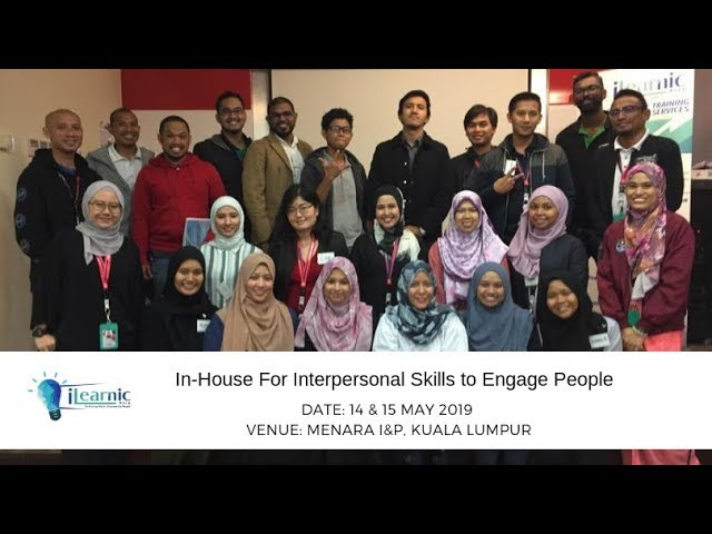 2019 May | In-House For Interpersonal Skills to Engage People (1st Session)