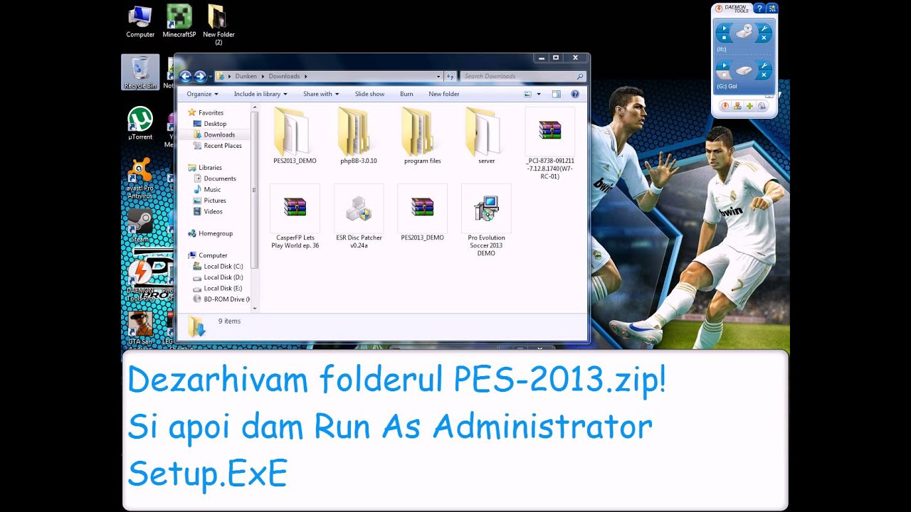 Download pes 2013 demo + extra pach 117 teams-jocuritutorial youtube.