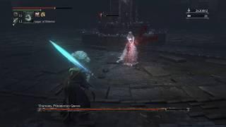 Yharnam, Pthumerian Queen - Arcane Build SL125 Moonlight Great Sword - Bloodborne