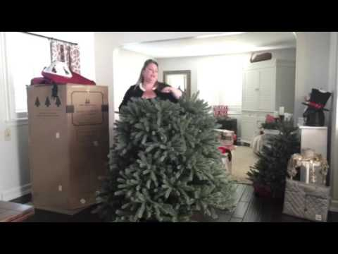 Balsam Hill Blue Spruce Flip Tree You