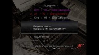 Resident Evil Origins boss final mode Survie Jill