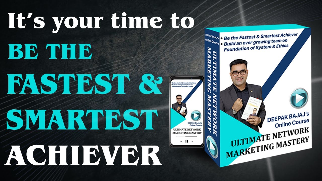 Best Network Marketing online course to multiply your INCOME & FULFILL your dreams | DEEPAK BAJA