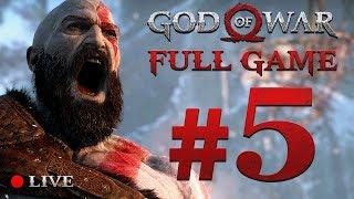 GOD OF WAR 4 (2018) | Full Game Stream #5