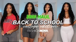 FASHION NOVA BACK TO SCHOOL HAUL- College Edition | Clothes & Shoes