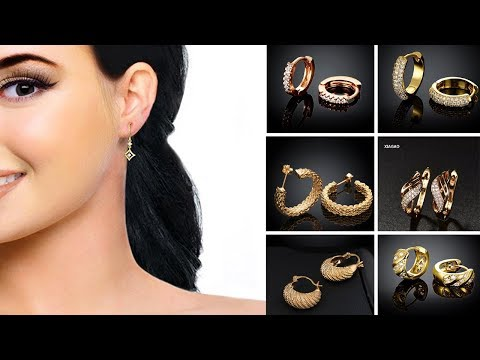 Gold Earring Designs above Rs. 5000