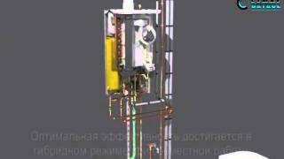 Экономичное отопление гибридным тепловым насосом Daikin Altherma в Одессе(Наша компания ООО