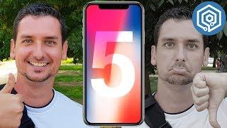 5 cosas que me han gustado y 5 que no del iPhone X
