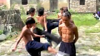 Кунг фу в уданском монастыре
