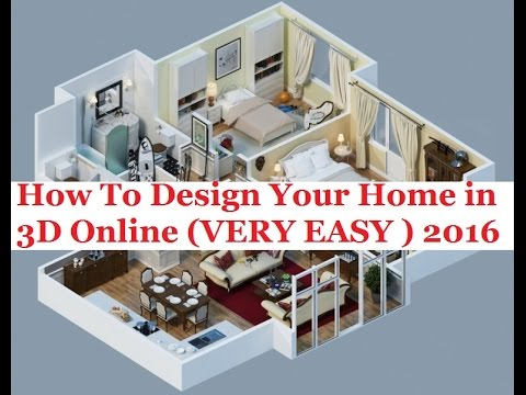 How To Design Your Home in 3D Online 2016 [URDU/HINDI] - YouTube