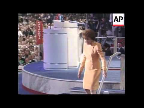 USA: ELIZABETH DOLE STEALS THE SHOW AT REPUBLICAN CONVENTION