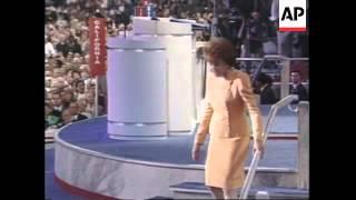 USA: ELIZABETH DOLE STEALS THE SHOW AT REPUBLICAN CONVENTION