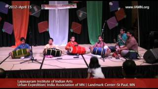 Layasaaram Institute of Indian Arts-Song-Drums [India Association of MN]