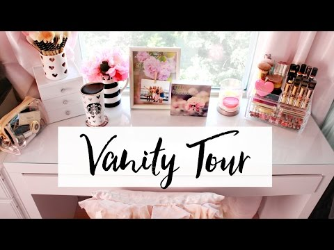 Vanity Tour & Makeup Collection   Belinda Selene