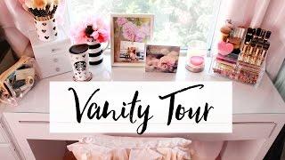 Vanity Tour & Makeup Collection | Belinda Selene